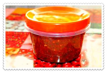 аджика из помидоров и чеснока на зиму без варки