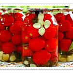 zasolka pomidorov na zimu v bankah recepty