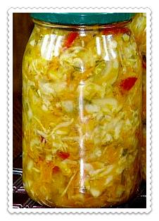 salat kubanskij na zimu bez kapusty