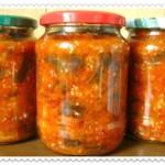 salat teshhin jazyk iz baklazhanov na zimu