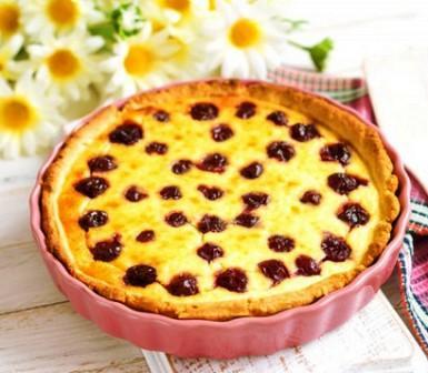 Ягодный пирог с замороженными ягодами