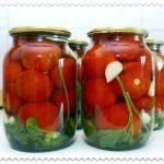 Маринованные помидоры пальчики оближешь в литровых банках