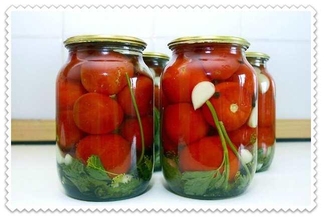 Маринованные помидоры на зиму: очень вкусные рецепты в банках