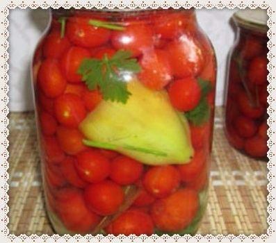 Как мариновать помидоры черри – 2 рецепта