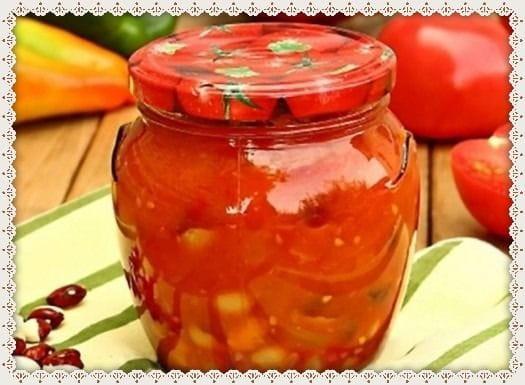 салат из фасоли греческий