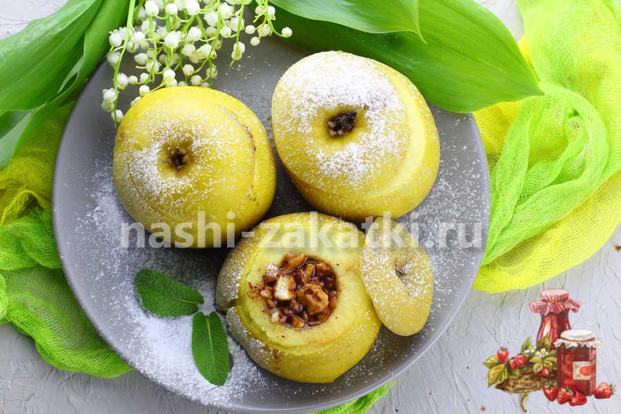 яблоки печеные в мультиварке рецепт самый вкусный