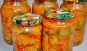 Миниатюра к статье Лучшие рецепты салата «Огород»: летний вкус на зиму